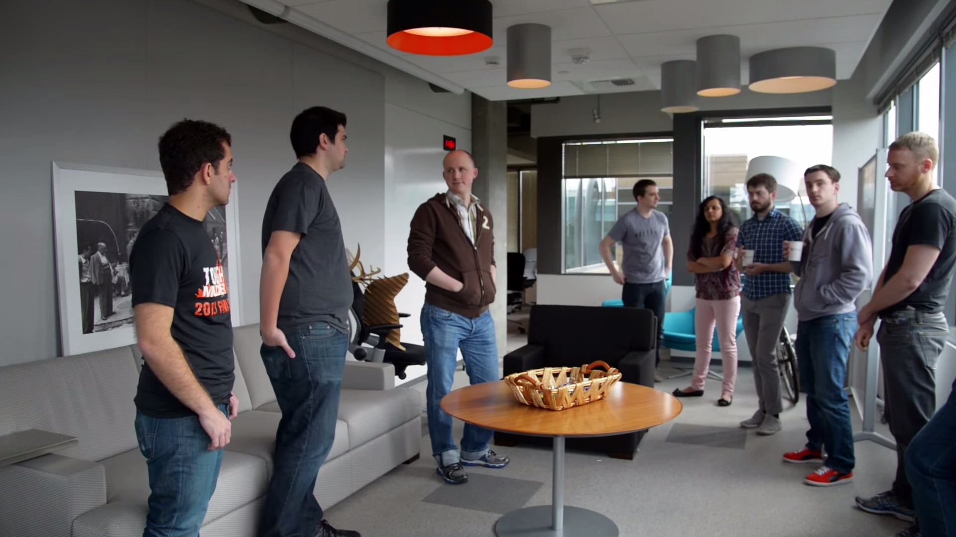 The Importance Of Daily Standup Meetings In Scrum The Official - Stand up meeting table