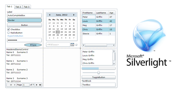 The tool allows you to test Microsoft Silverlight Rich Internet Applications (RIA) using its UI automation library.