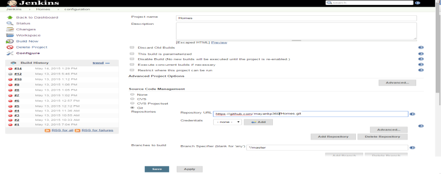 Integrating Jenkins with GitHub for Windows - The Official