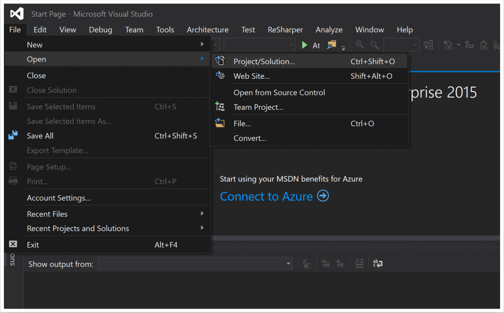 How to Open a GitHub Project Using Visual Studio? - The