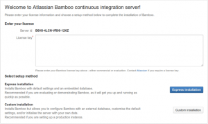 Atlassian Bamboo Continuous Integration Server