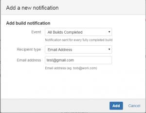 Add new notification