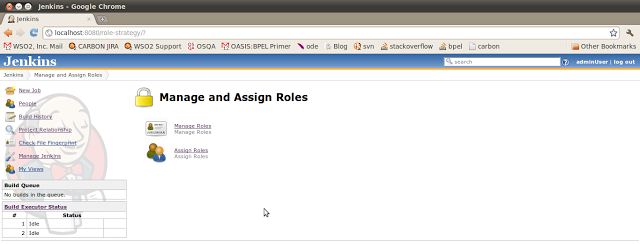 Manage and Assign Roles