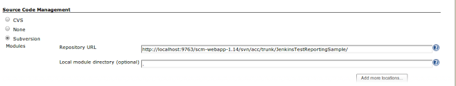 Repository URL
