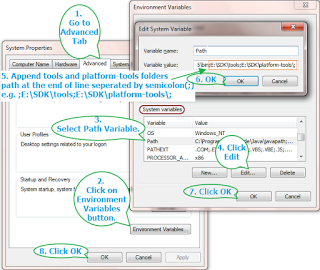 How to Set Path Environmental Variable for SDK in Windows? - The