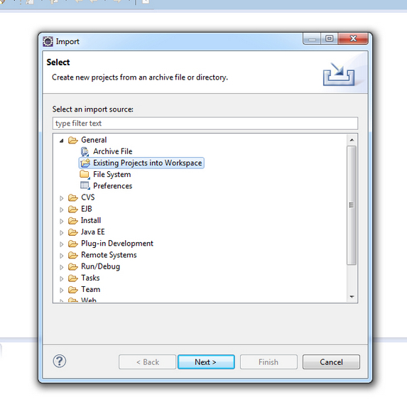 How to Import a Java Project into Eclipse IDE? - The